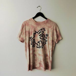Keith Haring Shirt American Artist Trendy Cotton L